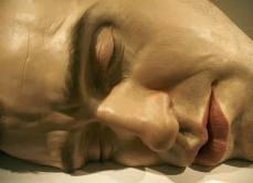 grande cabeça humana - esculturas