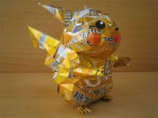 pokemom - Esculturas feitas com latinhas - 2