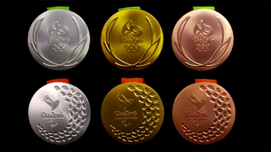 Olympic Medals Rio 2016 - video shows how they're made
