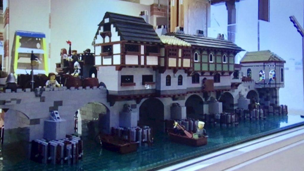 World Landmarks Created With Lego - exhibition Nottingham