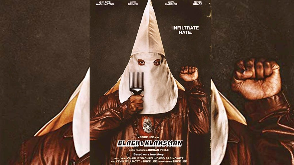 Image result for blackkklansman