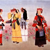 Artworks of Cao Lan on the life of Sani