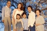 敬老の日 三世代家族26