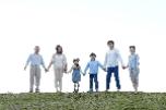 敬老の日 三世代家族30