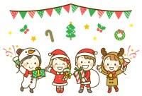 子ども会のクリスマス会の挨拶のコツと例文!開会・閉会