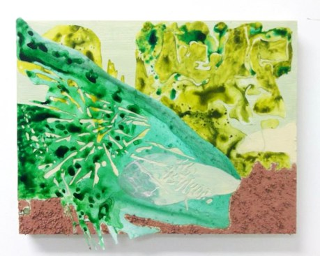"""LANDSCAPE OF INTENT (2013) MEDIA: Mixed Media on Wood Panel. SIZE: 9"""" x 12"""""""