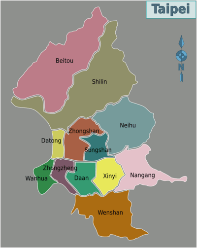 taipei districts