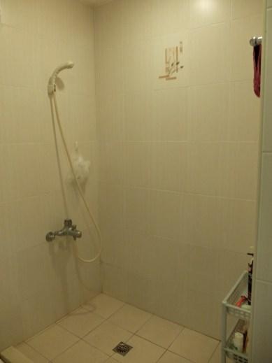 Notre douche