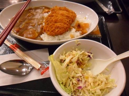Notre curry du soir