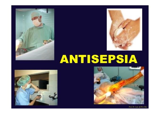 antisepsia y desinfección
