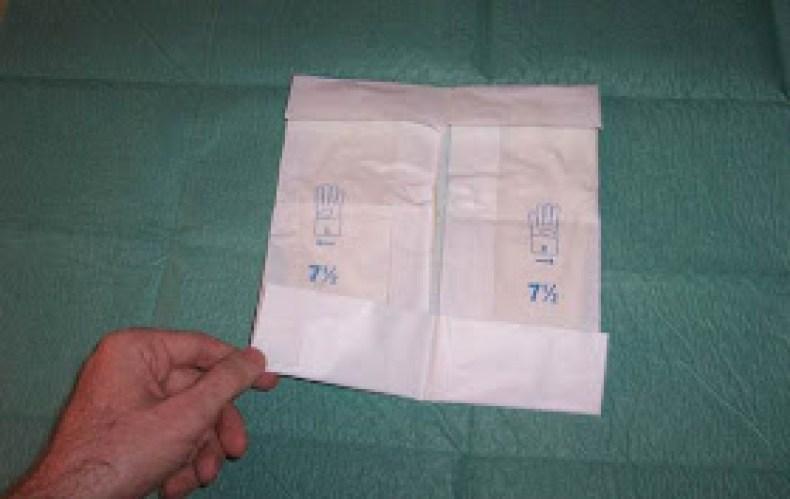Pasos para la colocación de guantes estériles2