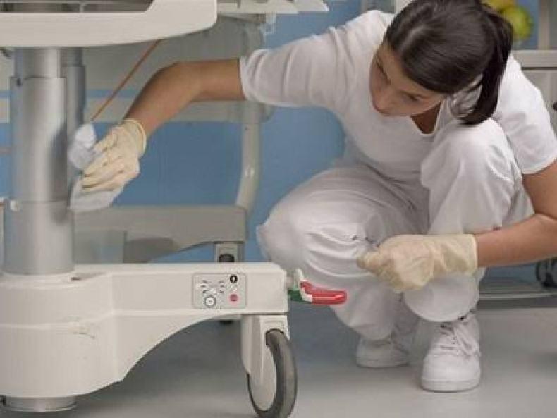 sanitizacion enfermería