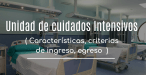 Unidad de cuidados intensivos UCI