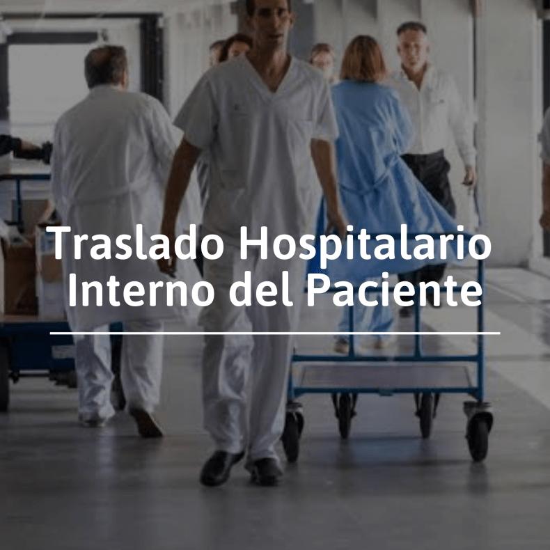 Traslado hospitalario interno del paciente
