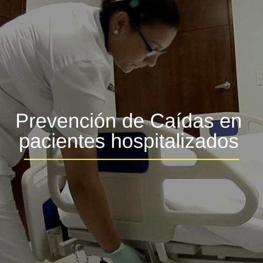 Prevención de Caídas en Pacientes Hospitalizado
