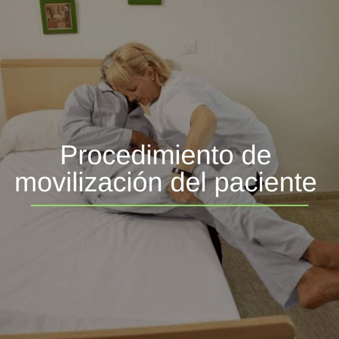 Movilización del Paciente Hospitalizado es el conjunto de actividades que se realizan para la movilización del paciente con limitaciónes del movimiento.