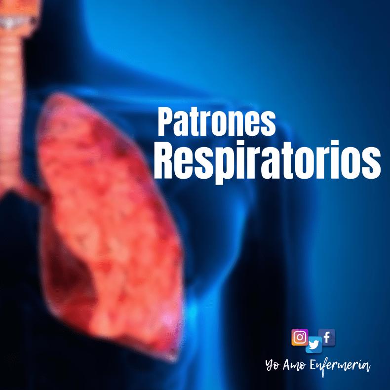 patrones respiratorios