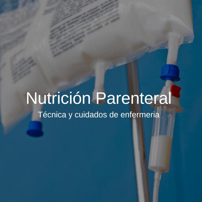 La Nutrición Parenteral técnica  (NP) consiste en la infusión de una mezcla de nutrientes por vía intravenosa.