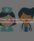 Diferencia entre el diagnóstico enfermero y médico