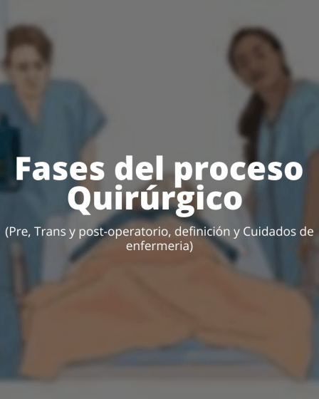 Etapas del proceso quirúrgico