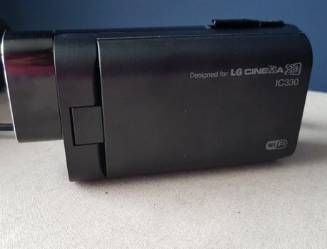CAMCORDER LG CINEMA 3D IC330 – CARACTERISTICAS Y RESEÑA