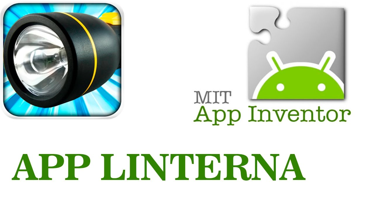 crear linterna en App Inventor