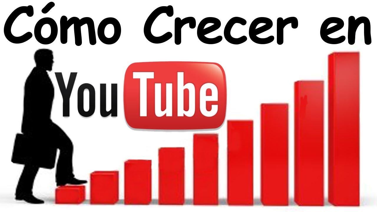 como crecer en Youtube