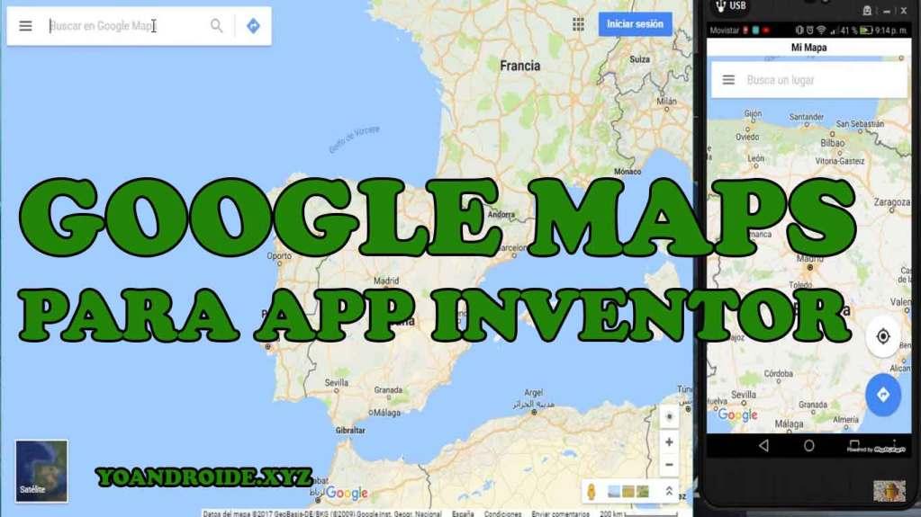 GOOGLE MAPS PARA APP INVENTOR
