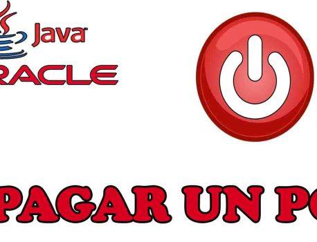 Apagar un computador mediante código Java
