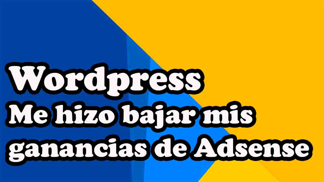 wordpress caen ganancias