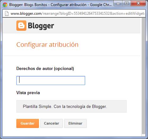 con la tecnologia de blogger