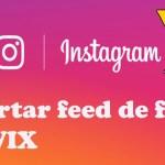 insertar fotos de instagram en una pagina web o blog de wix