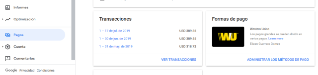 como recibir dinero de wenstern union en colombia youtube adsense