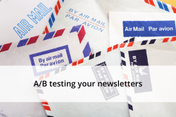 a:b testing your newsletters