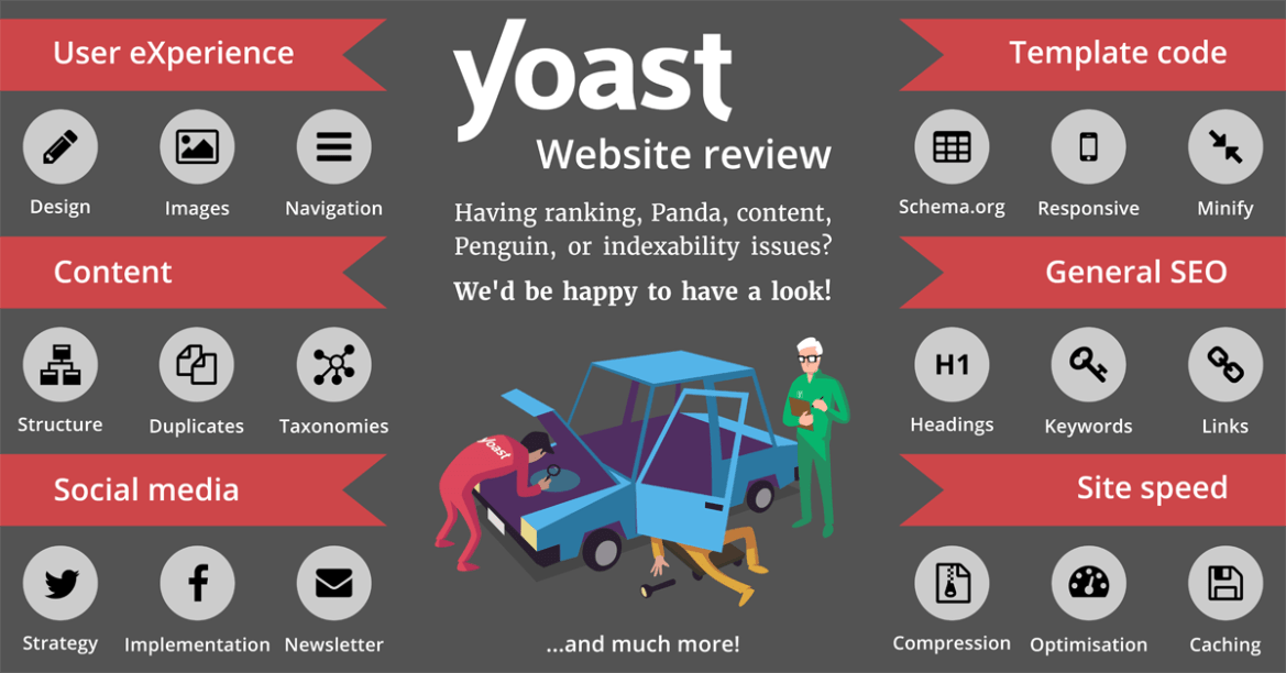 Yoast website reviews help you optimize your site