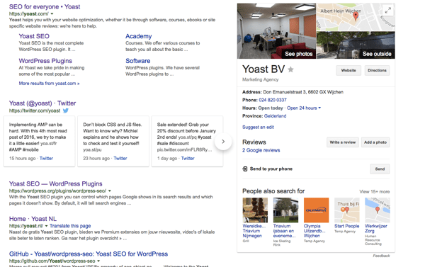 Yoast Knowledge Graph