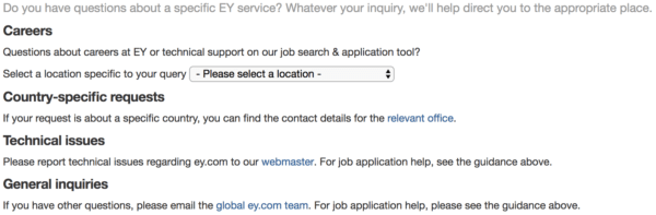 Contact page ey.com
