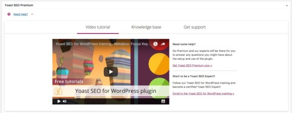Yoast SEO new help center
