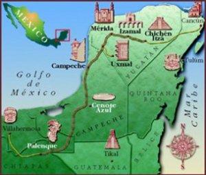 Mapa maya