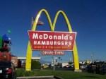 247 Mcdonalds sign