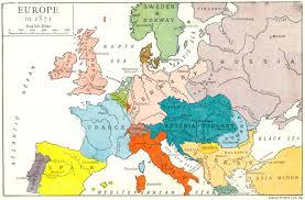 Europa en 1871.