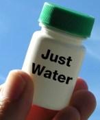 sólo agua, la homeopatía es un fraude