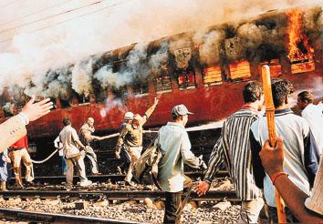 הרכבת מאיודיה בוערת, פברואר 2002