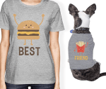 18 Cute+Funny Dog and Owner Matching Clothes for Instagram-Worthy Photos