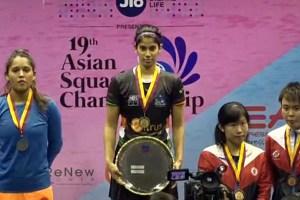 Joshna Chinnappawins Asian Squash 2017