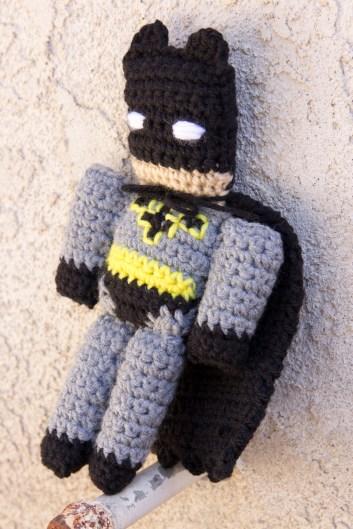 Batman crochet doll small