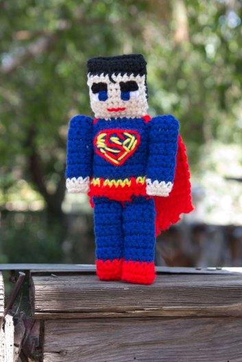 Superman rag doll 2884