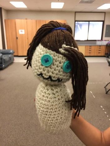 Wip crochet doll