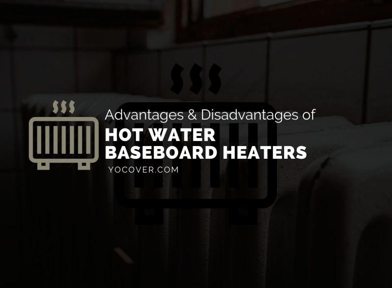 Hot water baseboard heaters