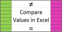compare values in Excel